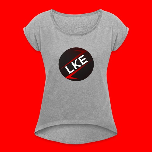 Lumus Kings Esports Logo - Frauen T-Shirt mit gerollten Ärmeln