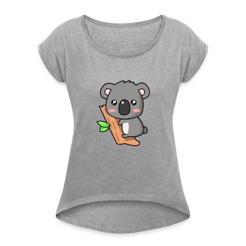 Kola Skin etroxLPV - Frauen T-Shirt mit gerollten Ärmeln
