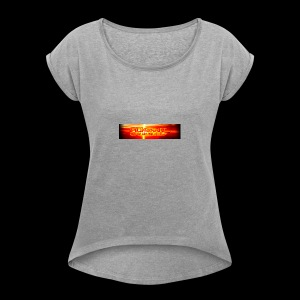 Flight Unlimited - Frauen T-Shirt mit gerollten Ärmeln