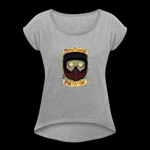 Bone Rattling - Women's T-shirt with rolled up sleeves