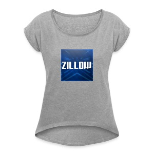 Zillow Logo - Women's T-shirt with rolled up sleeves