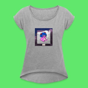 le nice girl - Women's T-shirt with rolled up sleeves