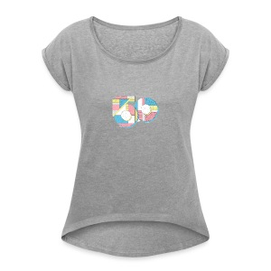 Fiftee - Women's T-shirt with rolled up sleeves