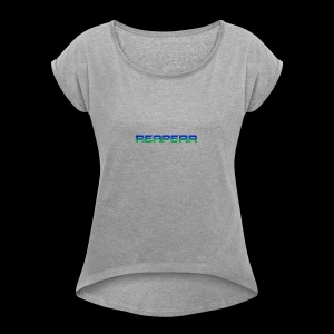 Reaperr - Women's T-shirt with rolled up sleeves