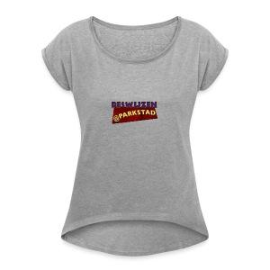 Deswijzen@Parkstad - Vrouwen T-shirt met opgerolde mouwen