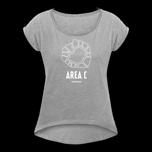 AREA C - Maglietta da donna con risvolti