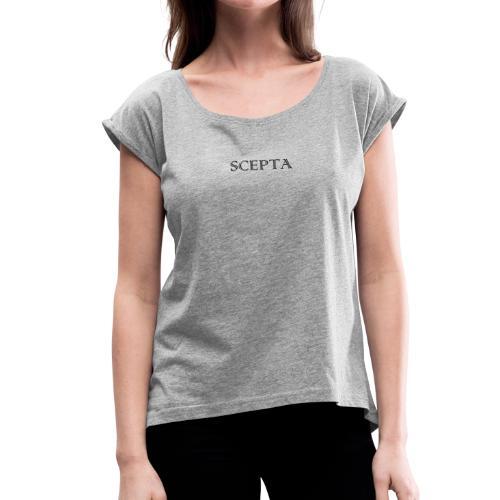 SCEPTA SCRIPT LOGO - T-shirt à manches retroussées Femme