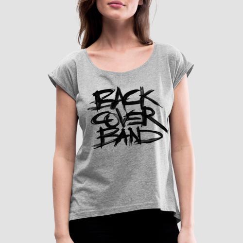 Back Cover Band - Maglietta da donna con risvolti