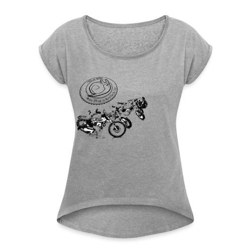 park125 - T-shirt à manches retroussées Femme