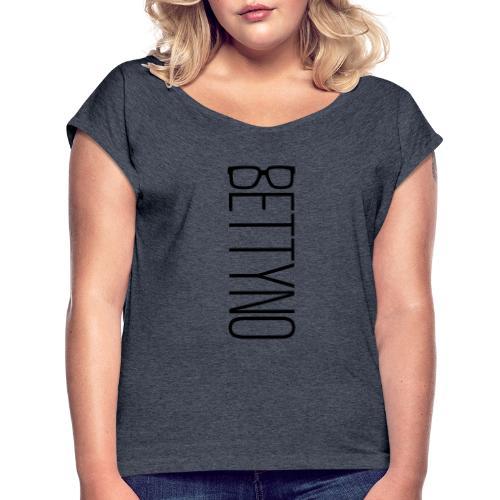BettyNo - Maglietta da donna con risvolti