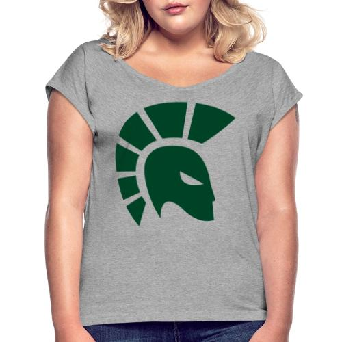 British Racing Green Centurion - Women's T-Shirt with rolled up sleeves