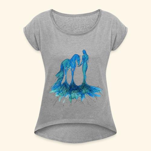 Racine - T-shirt à manches retroussées Femme