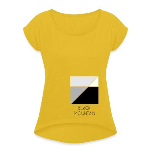 Black Mountain - Maglietta da donna con risvolti