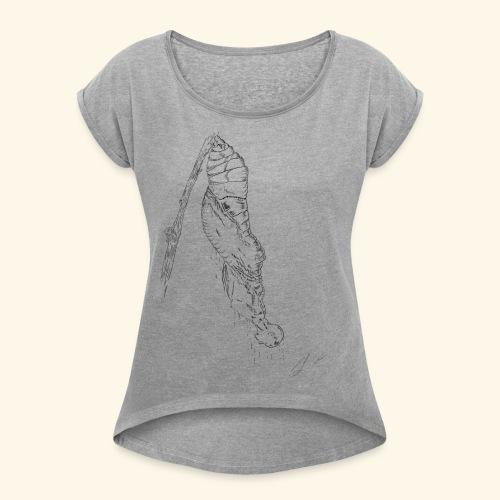 baco fata - Maglietta da donna con risvolti