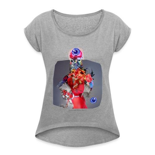 Doctor Rudy Knows Best 2! - Vrouwen T-shirt met opgerolde mouwen