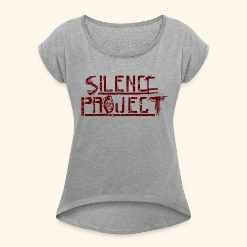 Silence Project - T-shirt à manches retroussées Femme