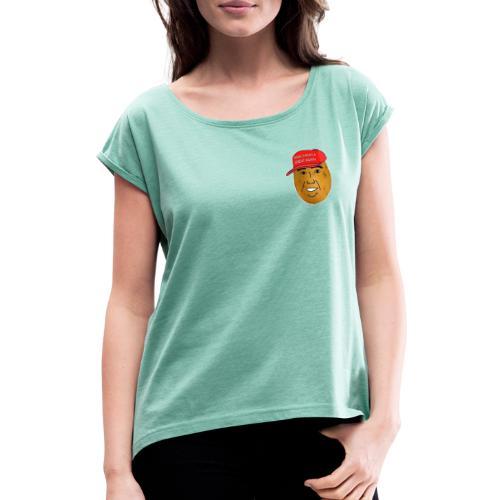 Potato - T-shirt à manches retroussées Femme