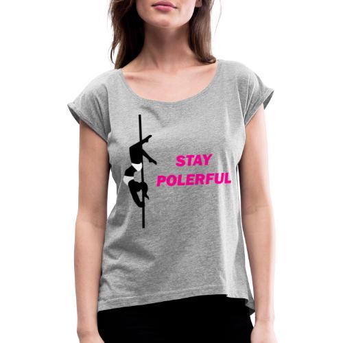 Polerful Studio - Maglietta da donna con risvolti