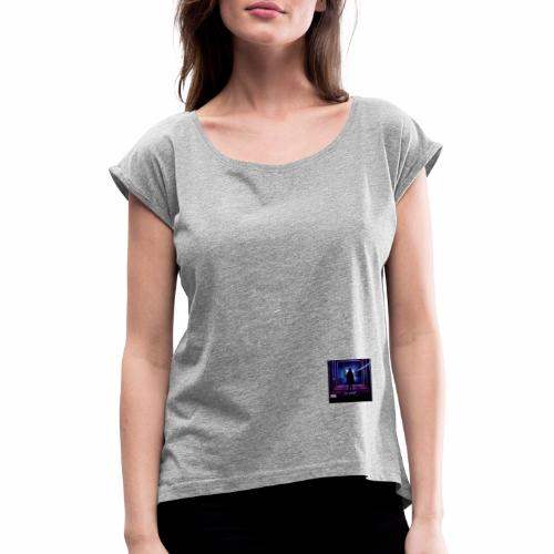 DJ COLD Thank You pt 1 - Women's T-Shirt with rolled up sleeves