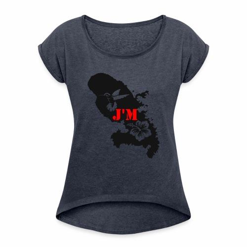 J'M La Martinique - T-shirt à manches retroussées Femme