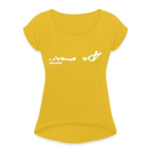 Do more (vettoriale) - Maglietta da donna con risvolti
