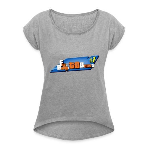 From BAMBI to BEAST - T-shirt à manches retroussées Femme