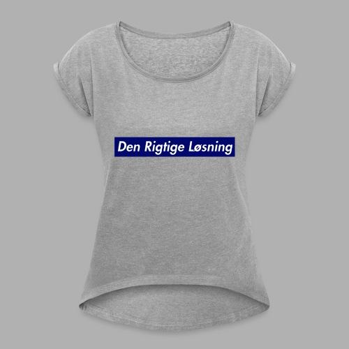 DRL BOGO - Dame T-shirt med rulleærmer