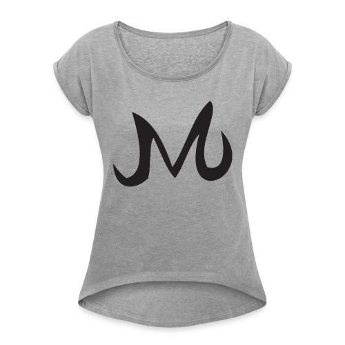 Masque Majin Vegeta - T-shirt à manches retroussées Femme
