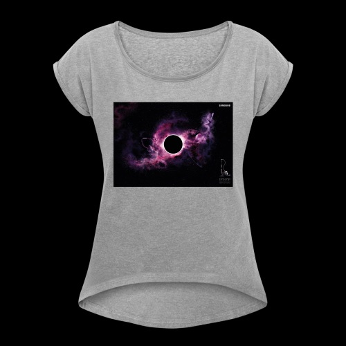 into darkness - Women's T-Shirt with rolled up sleeves