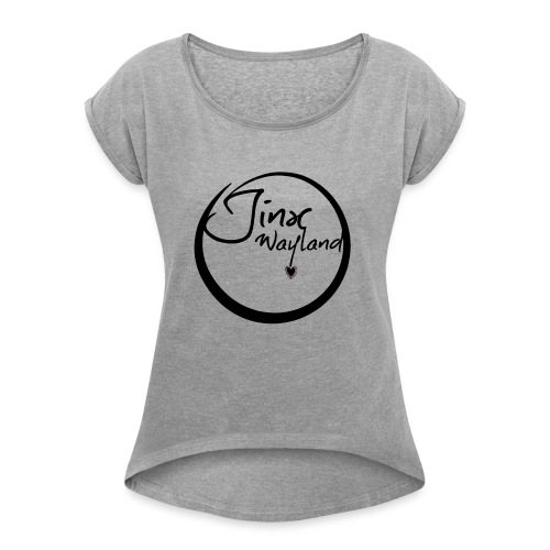 Jinx Wayland Circle - Women's T-Shirt with rolled up sleeves