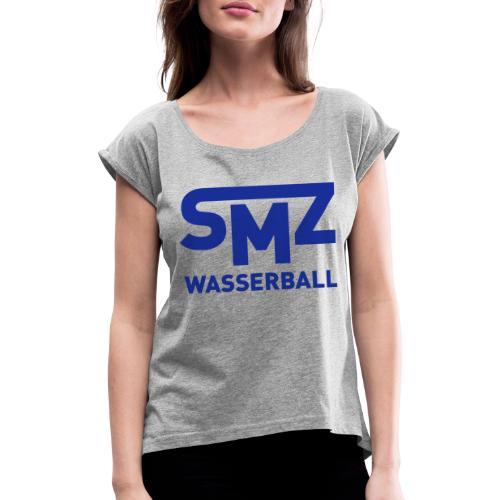 SMZ Urban - Frauen T-Shirt mit gerollten Ärmeln