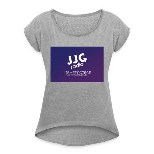 JE ME PROTEGE - MONTPELLIER, LUNEL - T-shirt à manches retroussées Femme