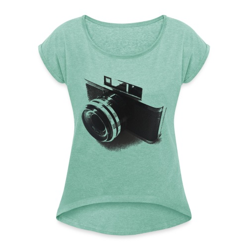 camara (Saw) - Women's T-Shirt with rolled up sleeves