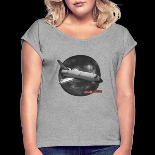 Space program - T-shirt à manches retroussées Femme
