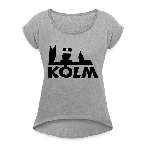 Kölm - Frauen T-Shirt mit gerollten Ärmeln
