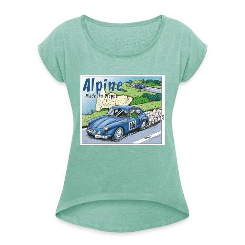 Polete en Alpine 106 - T-shirt à manches retroussées Femme