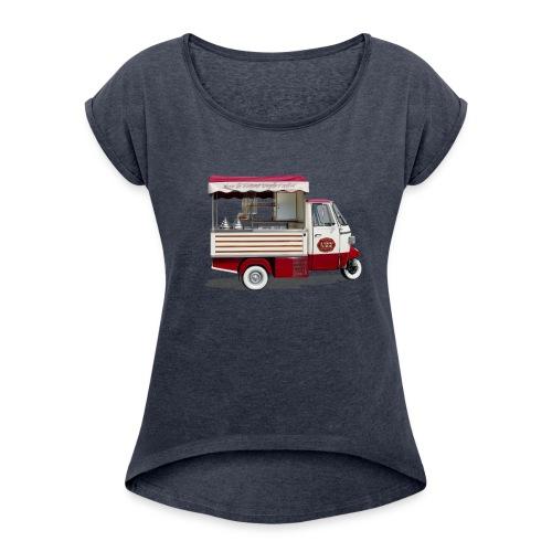 Gelato! - Maglietta da donna con risvolti