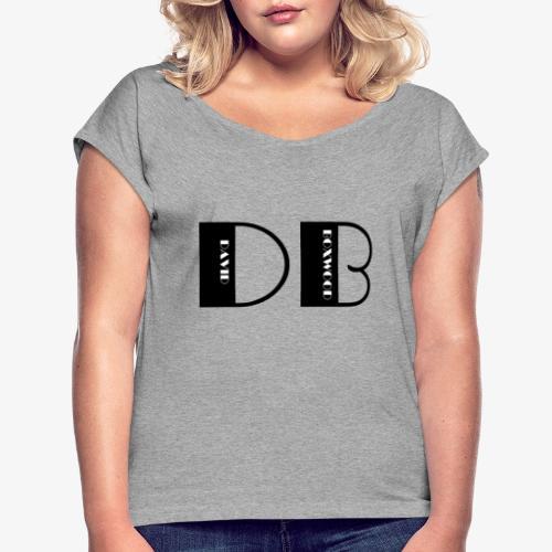 D OF DAVID, B OF BOXWOOD - Maglietta da donna con risvolti