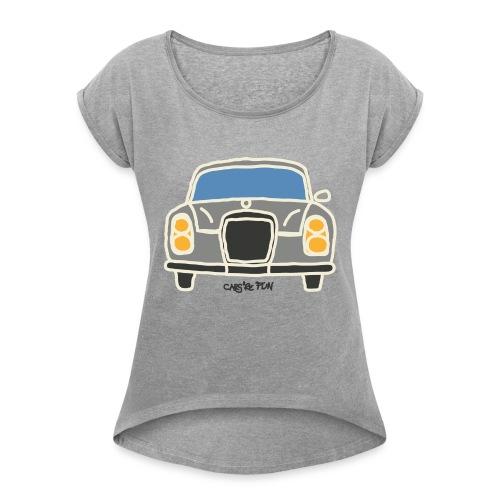 Voiture ancienne mythique allemande - T-shirt à manches retroussées Femme