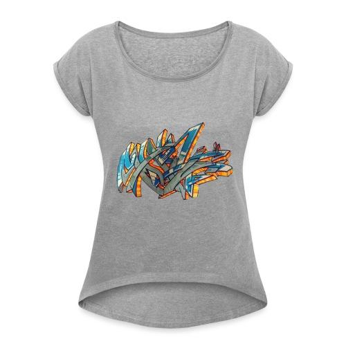 Srow wildstyle sensation 1 - T-shirt à manches retroussées Femme
