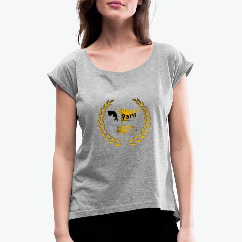 Followme Paris lauréat Festival MMI Béziers - T-shirt à manches retroussées Femme