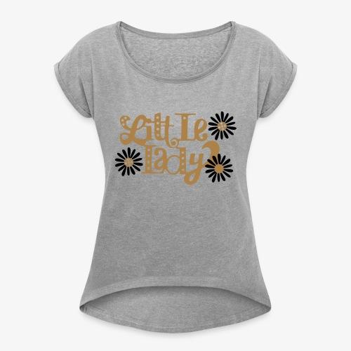 large_little-lady - T-shirt à manches retroussées Femme