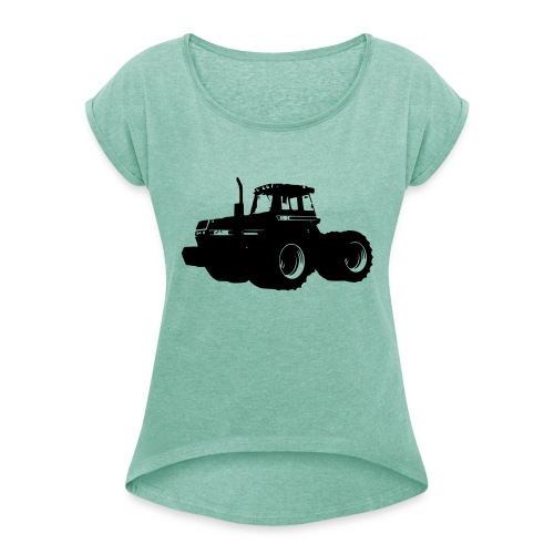 4494 - Women's T-Shirt with rolled up sleeves