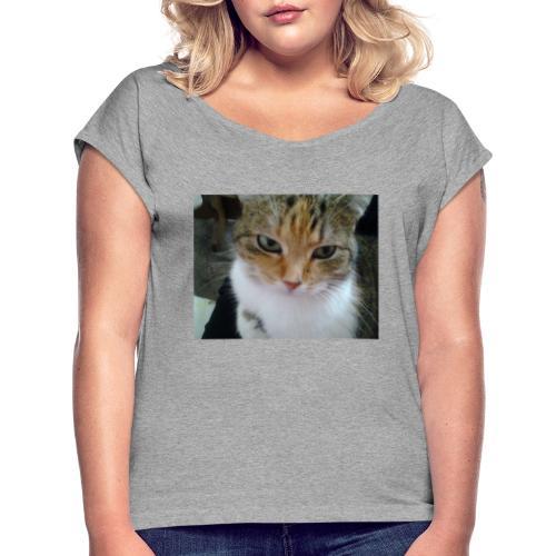 2016 02 04 13 46 28 - Frauen T-Shirt mit gerollten Ärmeln