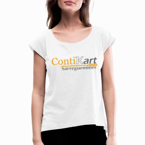 ContiKart Follower - T-shirt à manches retroussées Femme