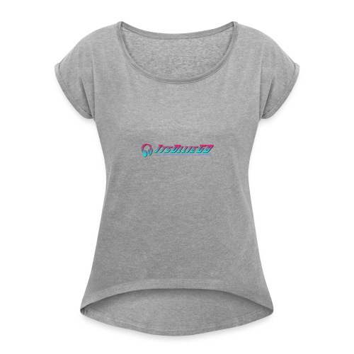 New IOGB Merch - Women's T-Shirt with rolled up sleeves