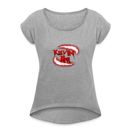 Mercancia de Kevin8PR - Women's T-Shirt with rolled up sleeves