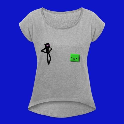 Slime Triggered - Maglietta da donna con risvolti