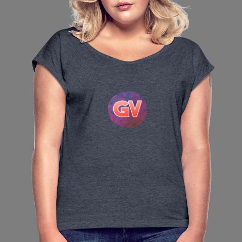 GV 2.0 - Vrouwen T-shirt met opgerolde mouwen