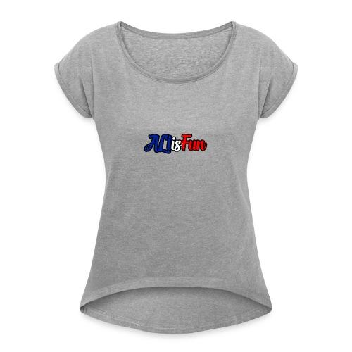 AltisFun - T-shirt à manches retroussées Femme